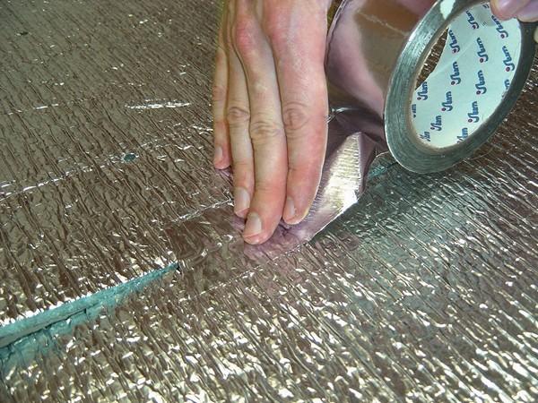алюминиевый скотч фото