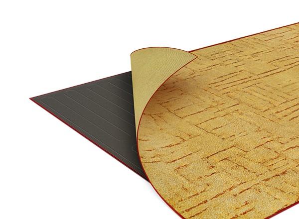 как сделать теплый пол под ковролин