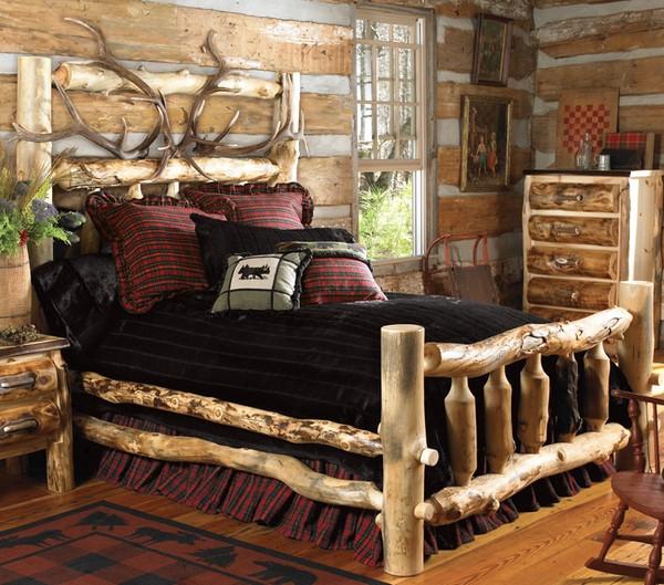 Спальня в кантри стиле фото