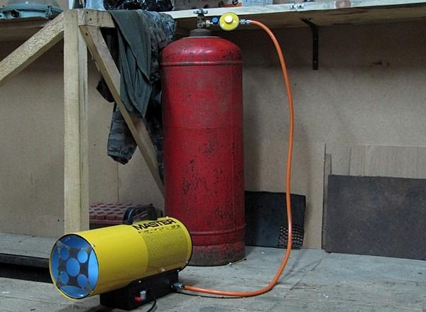 газовый обогреватель для гаража фото