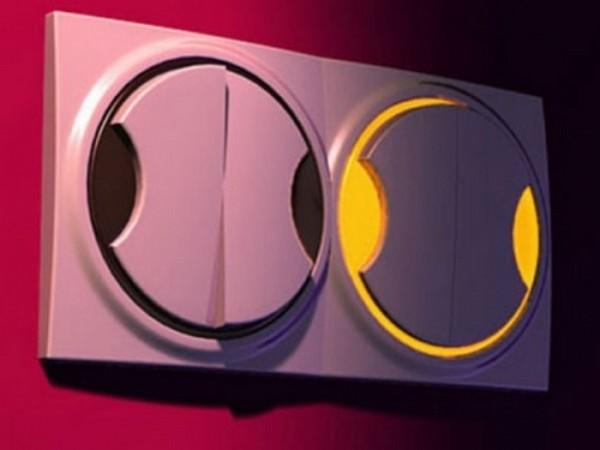 клавишный выключатель с подсветкой фото