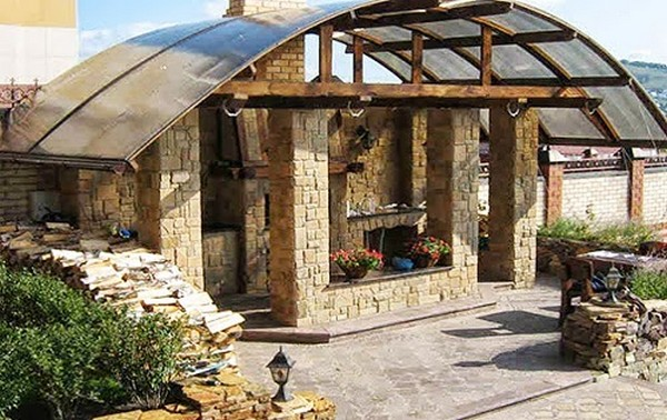 Летняя кухня на даче проекты своими руками фото