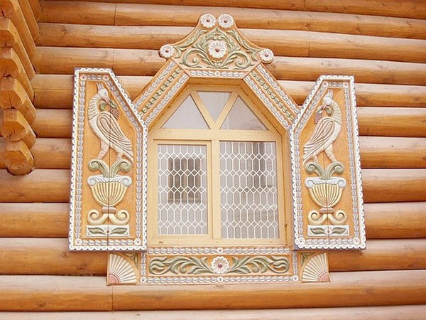 ставни на окна декоративные фото