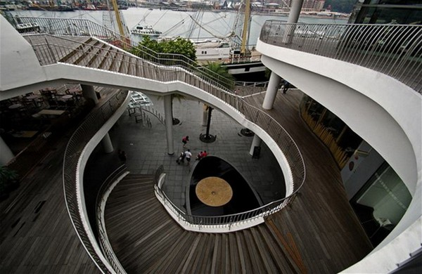 винтовые бетонные лестницы фото
