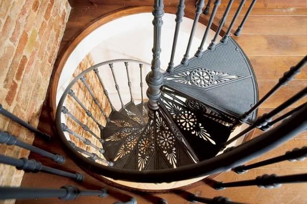 винтовые кованые лестницы фото
