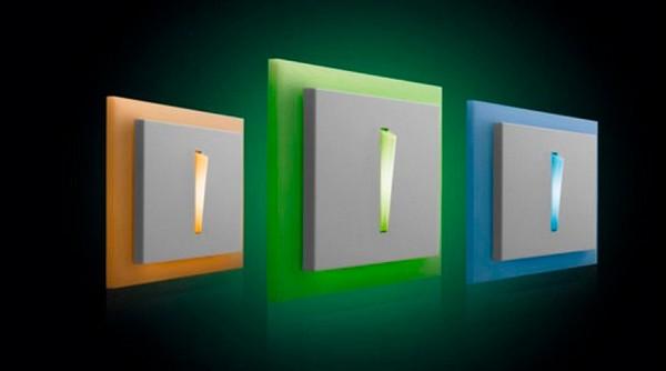 выключатель с подсветкой фото