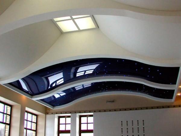 лучшие натяжные потолки фото