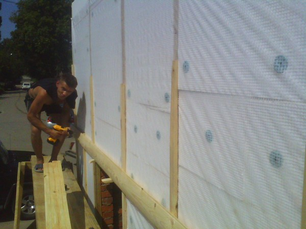 обшивка стен блок хаусом фото