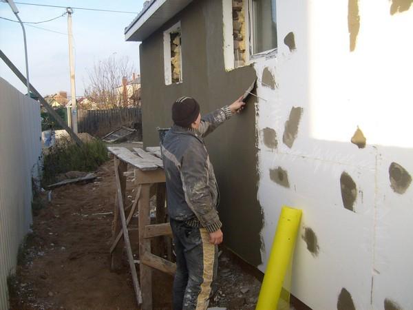 отделка наружных стен дома фото