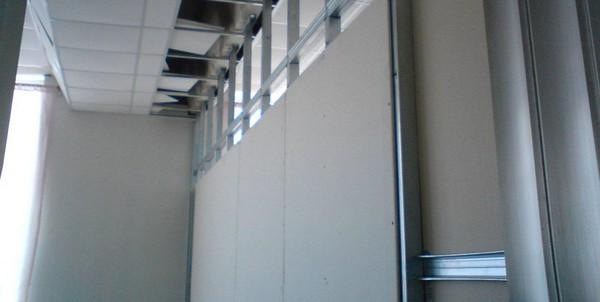 стены из гипсокартона своими руками фото