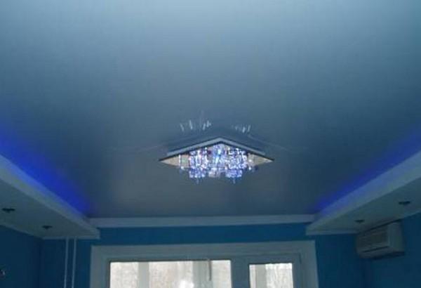 цвета натяжных сатиновых потолков фото