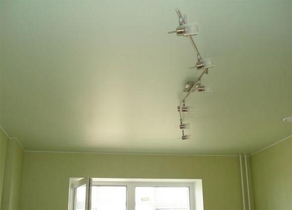 сатиновое полотно для натяжных потолков фото