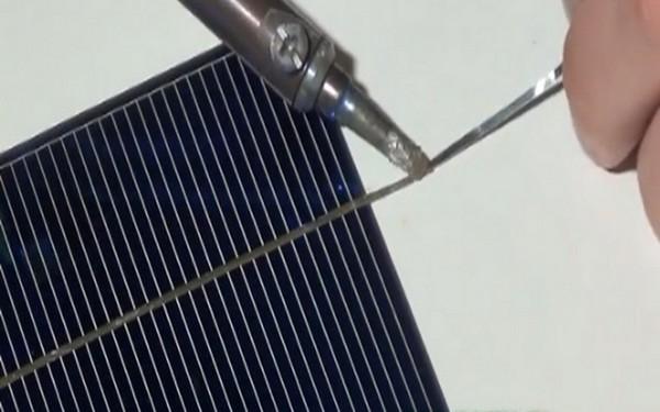 сборка солнечных панелей своими руками фото