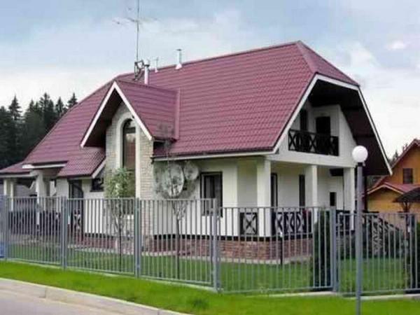 виды вальмовых крыш: датская вальма фото