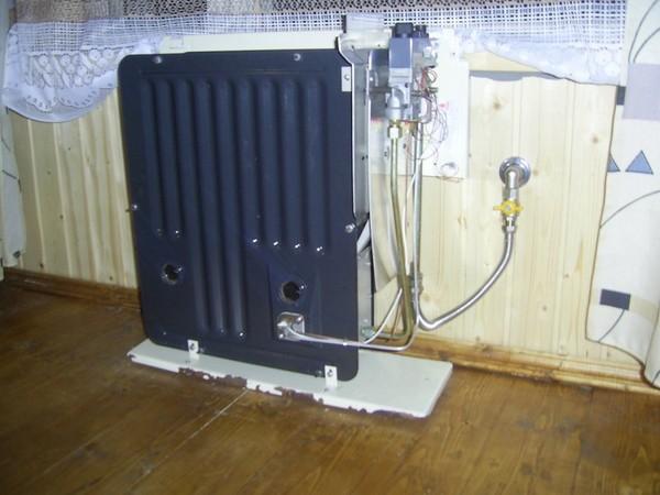 монтаж газового конвектора фото