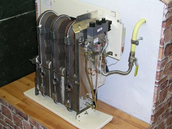 напольный газовый конвектор фото