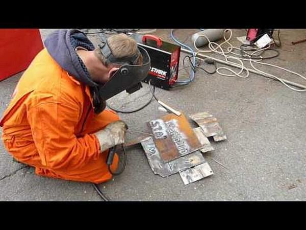 как варить металл электросваркой фото