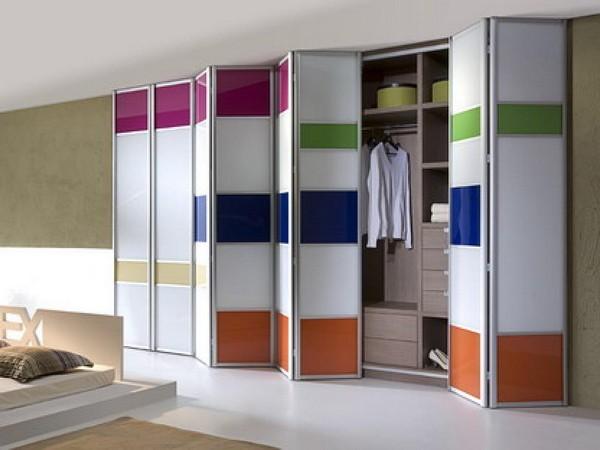 раздвижные двери для встроенного шкафа фото
