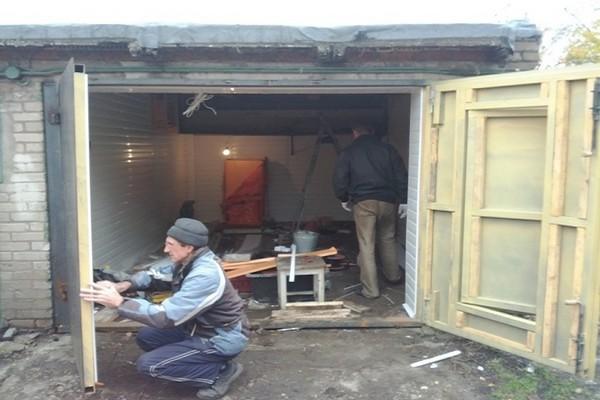 утепление гаража фото