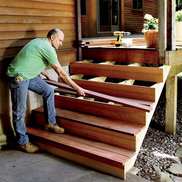 строительство крыльца деревянного дома фото
