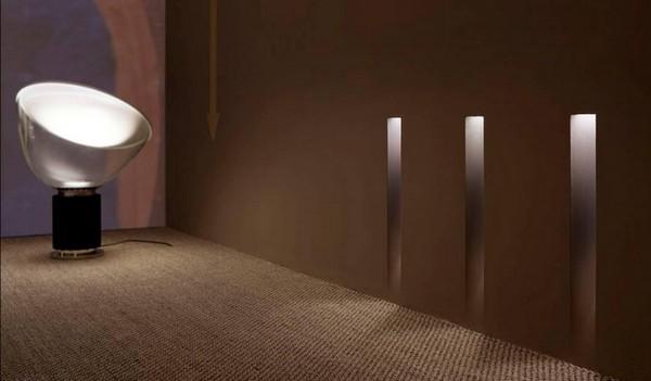 светильники встроенные в стену светодиодные фото