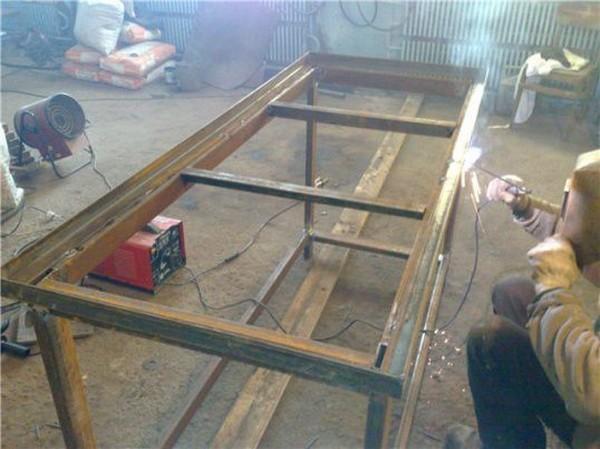 металлические полки в гараж фото