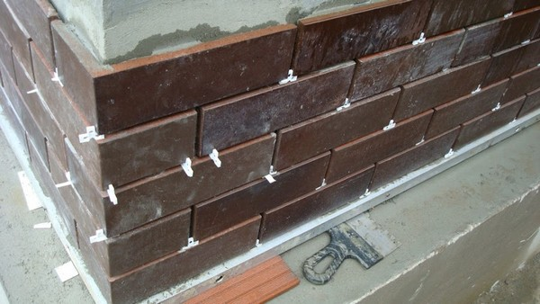 бетонная плитка для облицовки цоколя фото