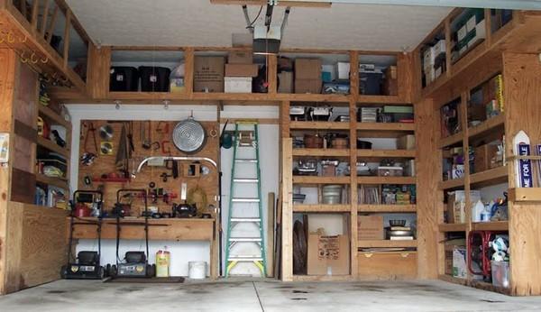 Фото частного гаража внутри своими руками