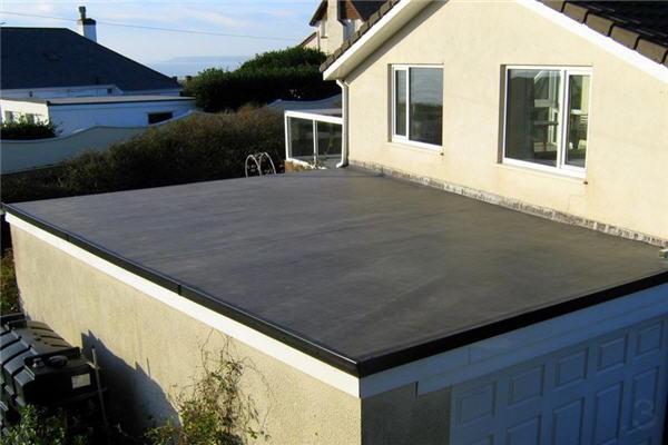 односкатная крыша для гаража из шлакоблоков фото