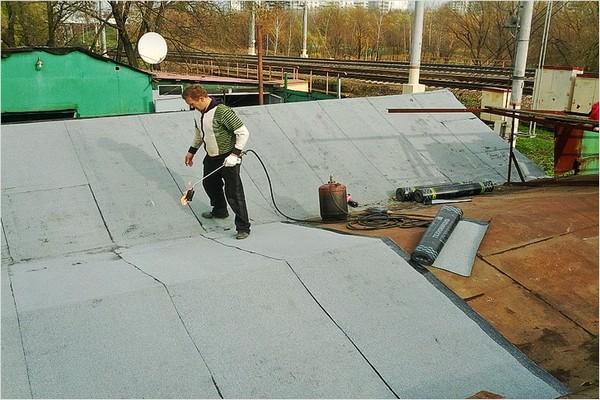 односкатная крыша своими руками пошагово для гаража фото