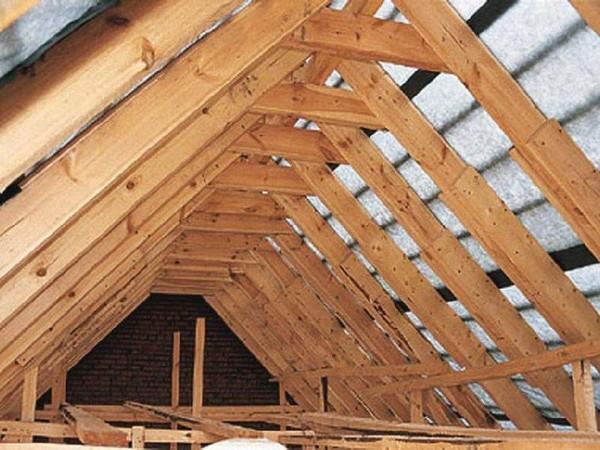 ремонт крыши дома своими руками фото