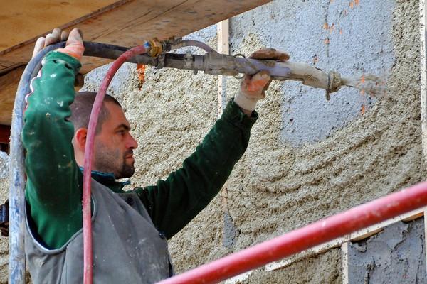 ремонт стен в доме своими руками фото