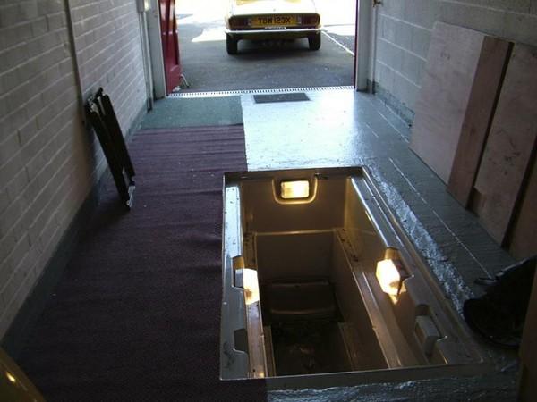 освещение смотровой ямы в гараже фото