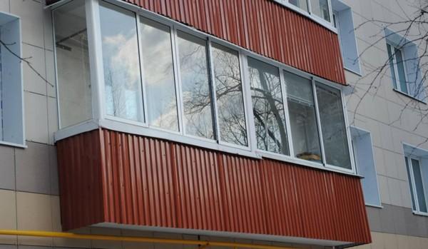 чем обшить балкон снаружи фото