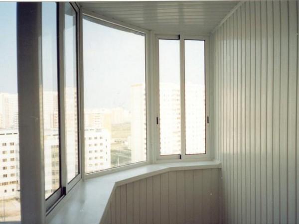 чем обшить балкон внутри фото