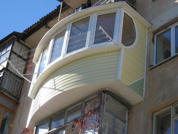 каким материалом обшить балкон фото