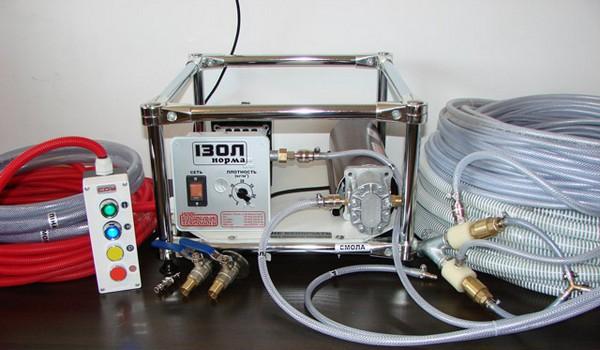 оборудование для жидкого пенопласта фото