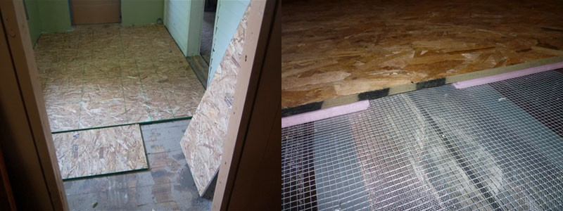 гидроизоляция деревянного пола фото