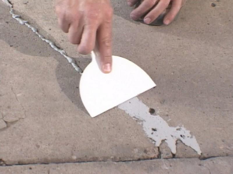 как выровнять неровный бетонный пол фото