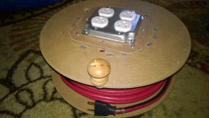 удлинитель электрический на катушке фото
