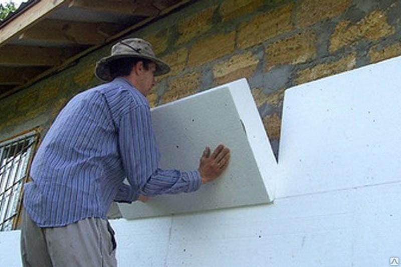 утеплитель для стен полистирол фото