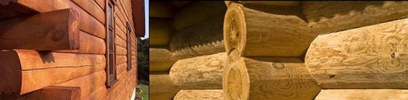 антисептик для древесины зимний фото