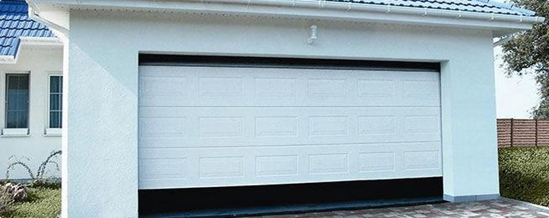 как установить ворота в гараж рольставни фото