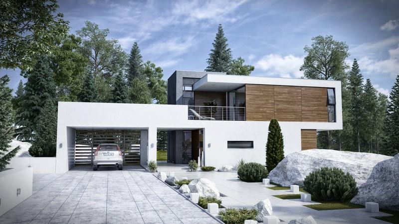 современные дома фото