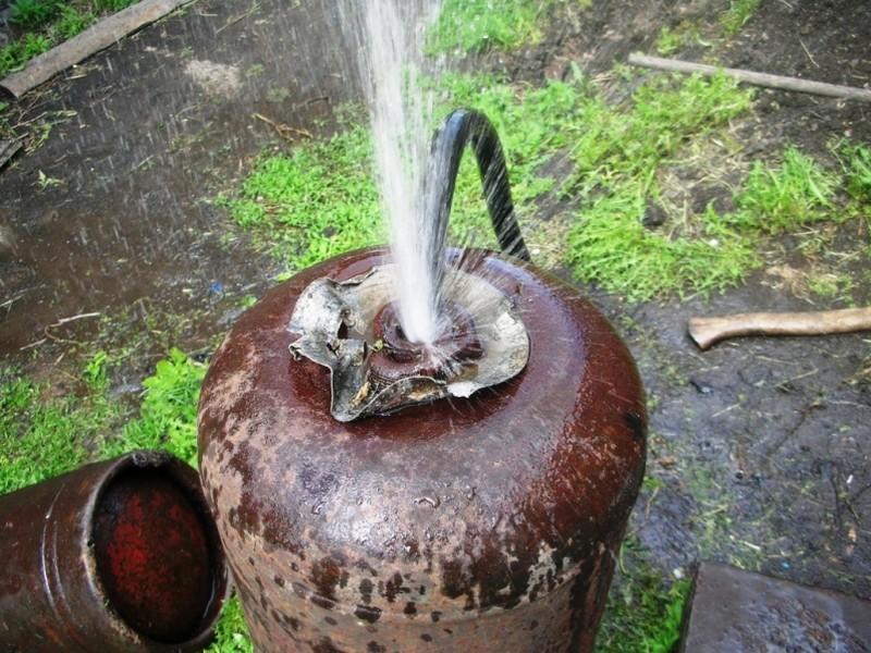 коптильня мангал из газовых баллонов своими руками фото