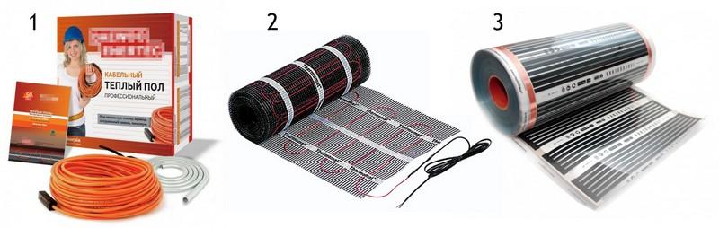 какие лучше выбрать электрические теплые полы фото