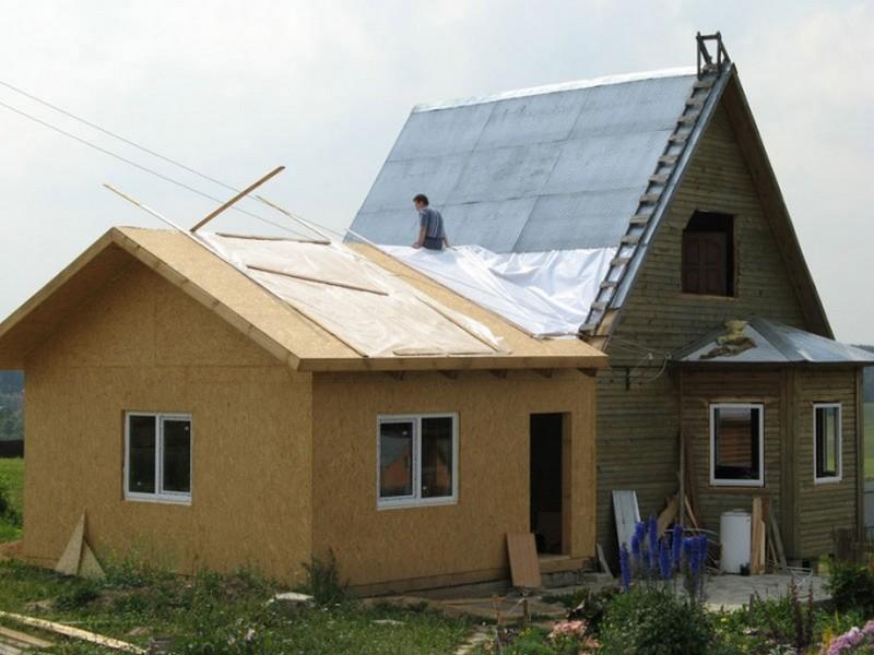 Строю пристрой к дому своими руками