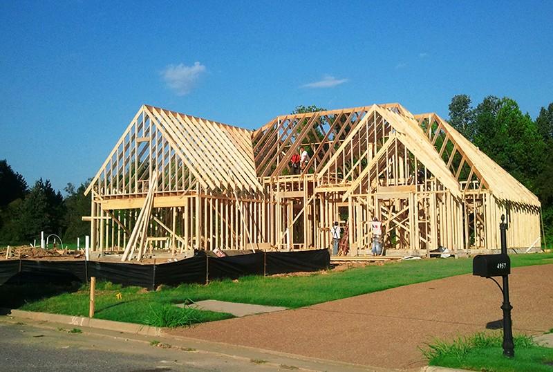 построить дом своими руками недорого фото