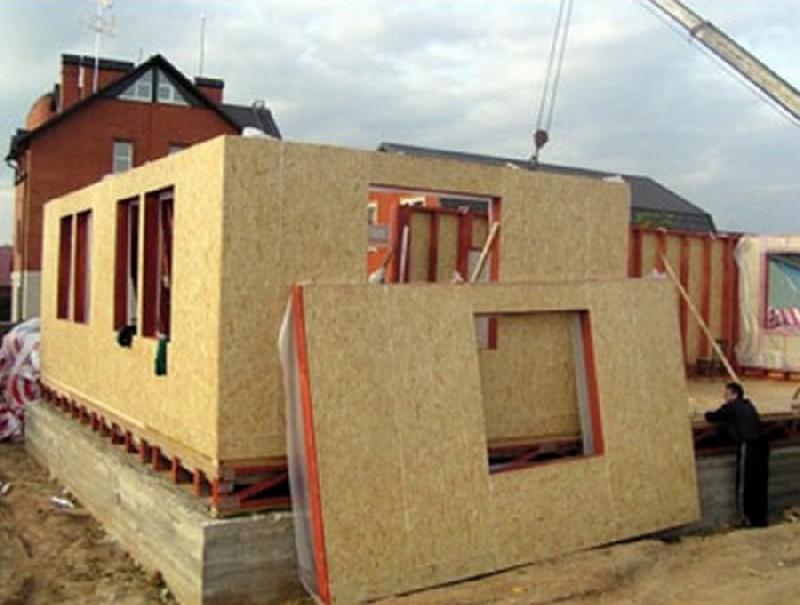 каркасно щитовой дом своими руками фото