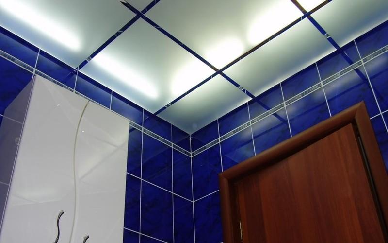 стеклянные матовые потолки фото